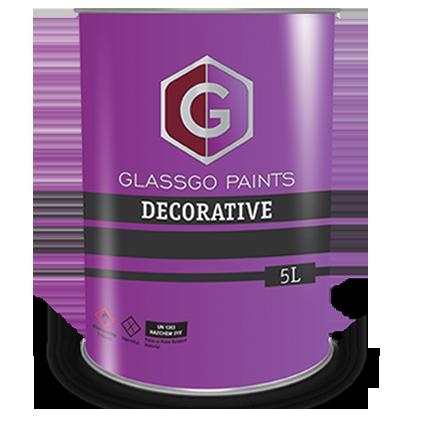 decorative paint tin