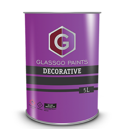 decorative paint tin